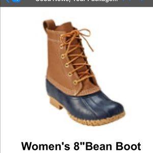 LL Bean 8 inch duck boots